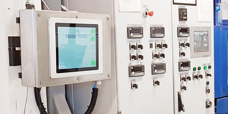 Modernisation of Dosetec dosing system's PLC control and operator screens. Bakers Brun