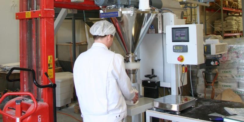 Fillermatic™ for various powder mixes. Fazer Mill&Mixes