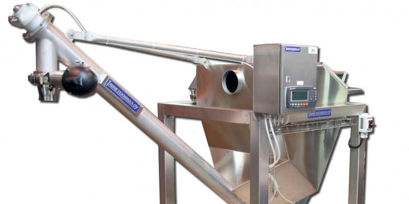 Dosing unit for pectin powder. Valio Oy