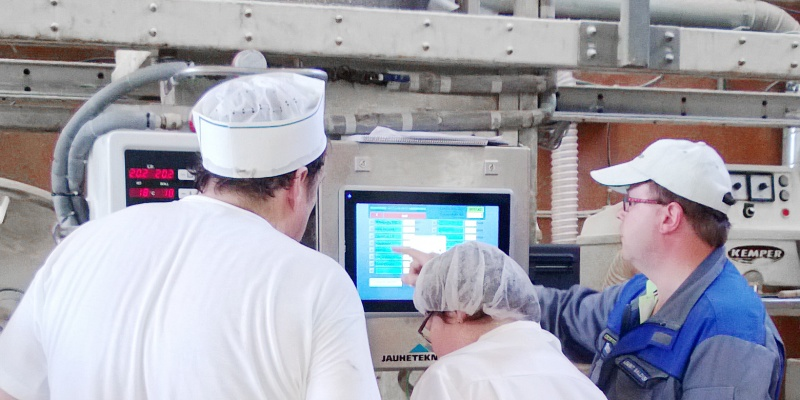 Modernisation of 2E dosing system's PLC control and operator screens. Verainen Bakery
