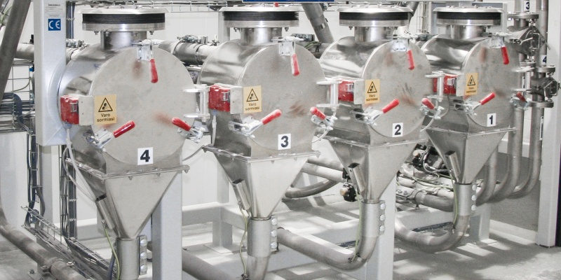 Ensure perfect product quality with adding sifters and magnets to your automatic dosing system