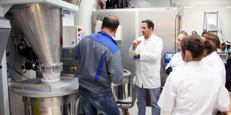 User training in Fazer Market Bakery