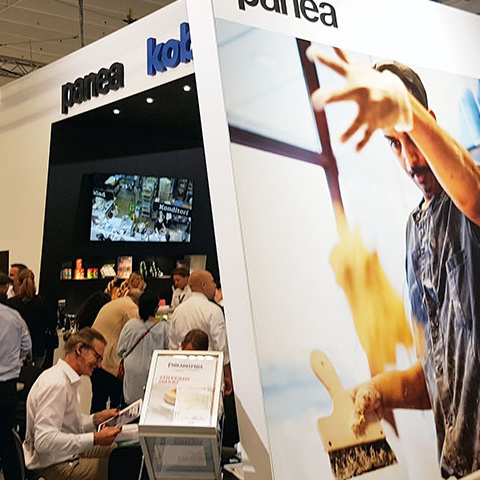Powder Technic in Bakery Exhibition in Stockholm